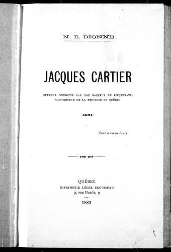 Download Jacques Cartier