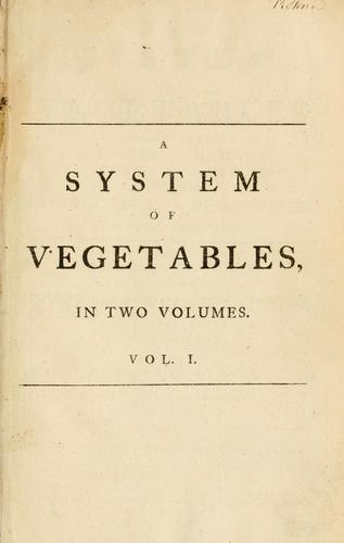 Download A system of vegetables