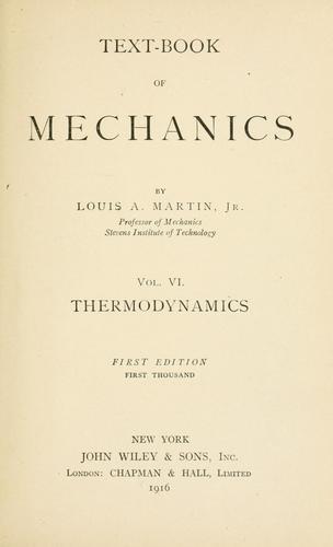 Text-book of mechanics.