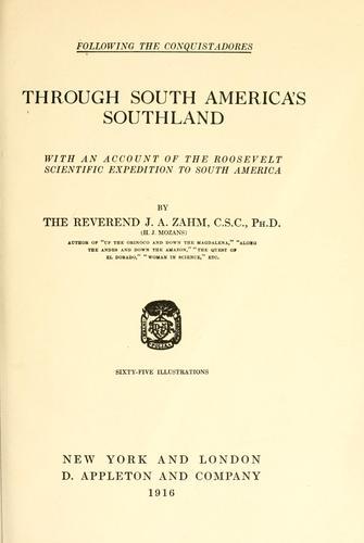 Through South America's southland