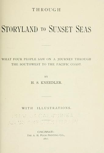 Download Through storyland to sunset seas