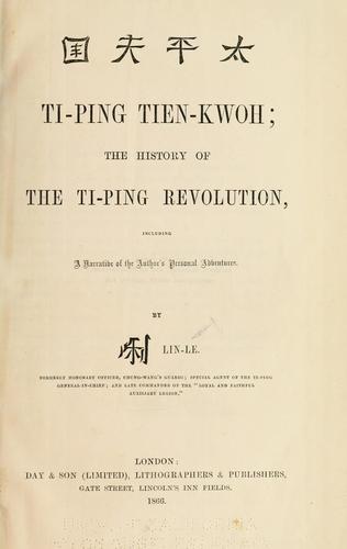 Download Ti-ping tien-kwoh