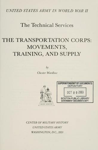 Download The Transportation Corps