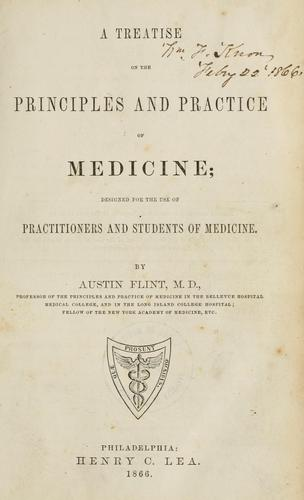 Download A treatise on the principles and practice of medicine