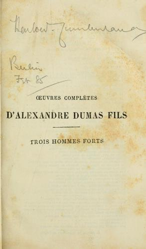 Download Trois hommes forts