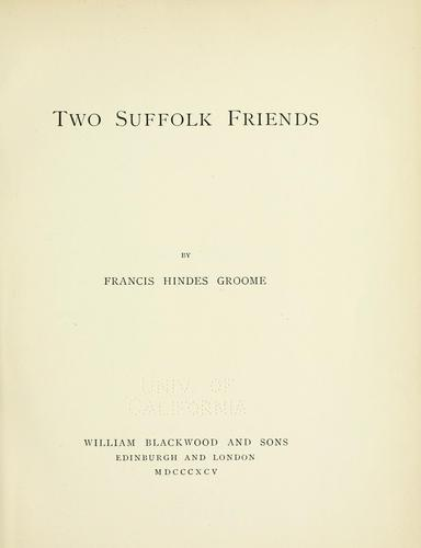 Two Friends - Amazon.de
