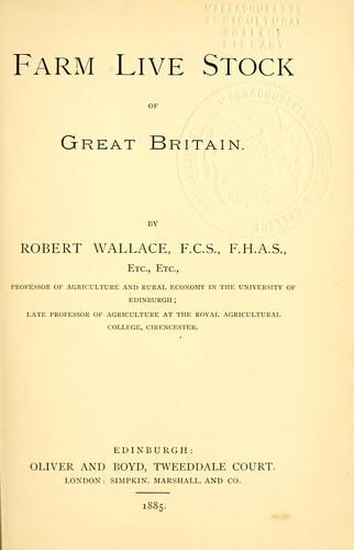 Download Farm live stock of Great Britain.