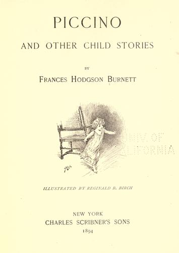 Download Piccino, and other child stories.