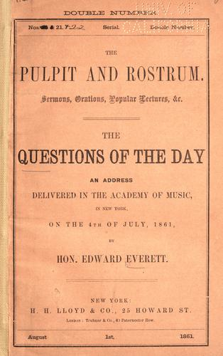 Download The questions of the day