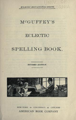 McGuffey's eclectic spelling-book