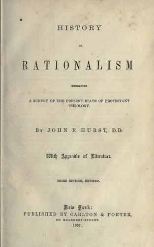 Download History of rationalism