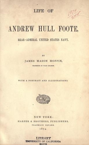 Download Life of Andrew Hull Foote