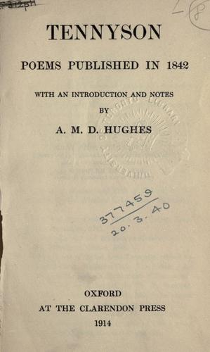 Poems published in 1842.