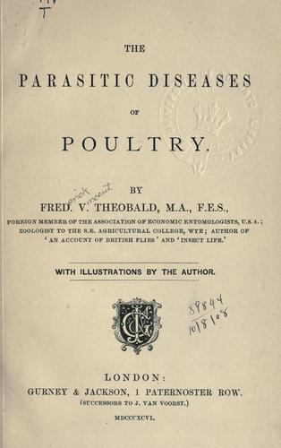 Download The parasitic diseases of poultry.