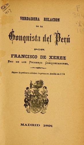 Download Verdadera relación de la conquista del Perú