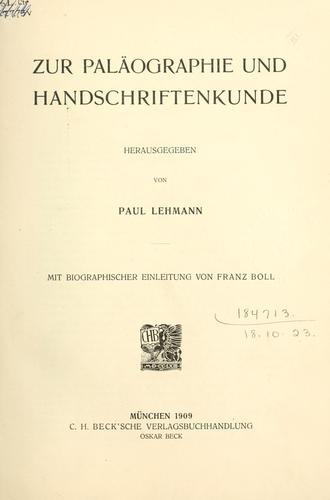 Download Vorlesungen und Abhandlungen