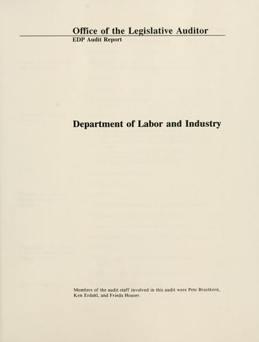 EDP audit report