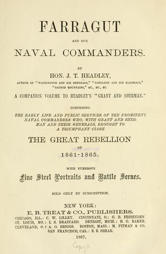 Farragut, and our naval commanders.