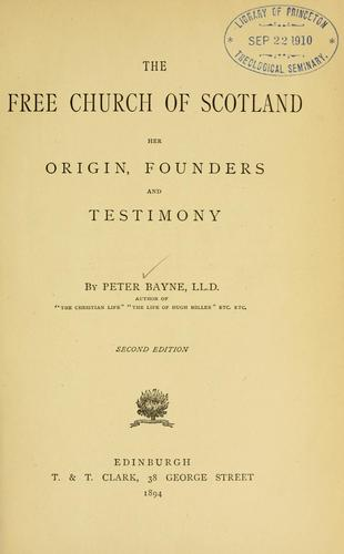 The Free Church of Scotland