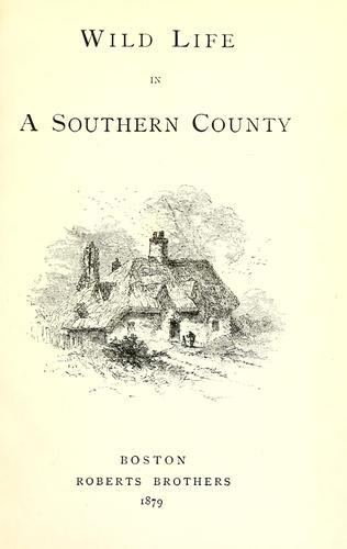 Download Wild life in a southern county