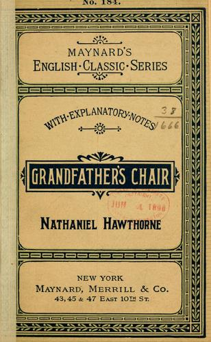 Download Grandfather's chair.