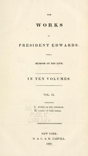 Download The works of President Edwards
