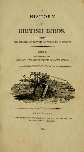 A history of British birds