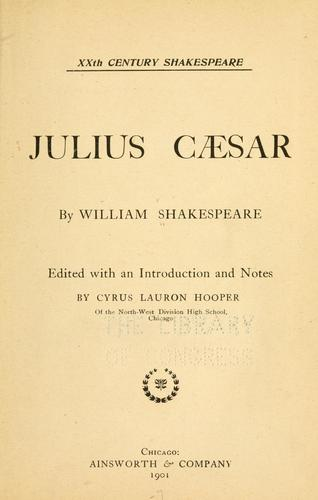 Download Julius Cæsar