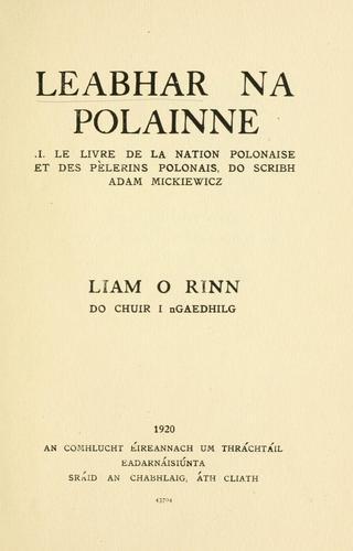 Leabhar na Polainne =