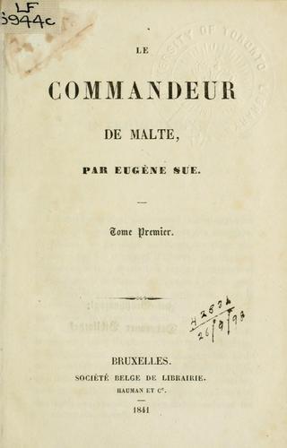 Le commandeur de Malte.
