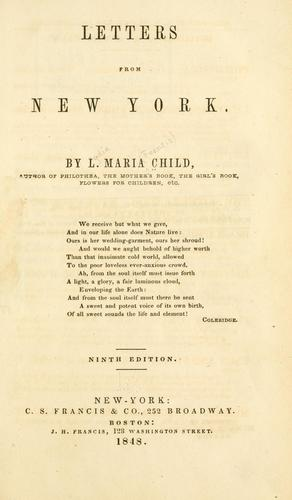 Download Letters from New York.