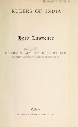 Download Lord Lawrence.