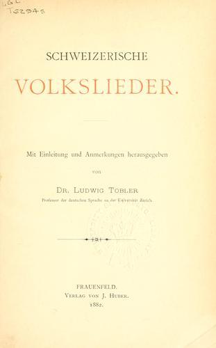 Download Schweizerische Volkslieder