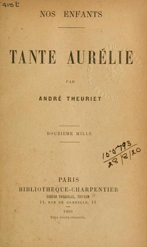 Tante Aurélie.