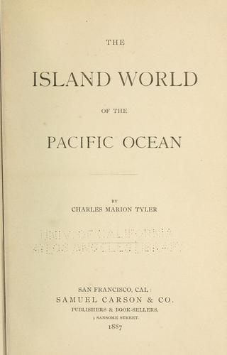 Download The island world of the Pacific Ocean