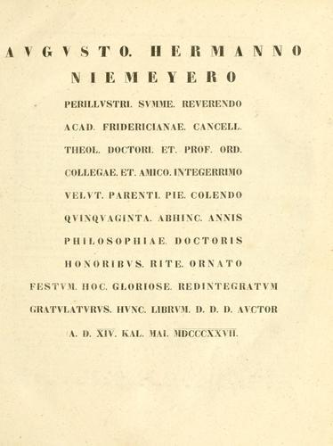 Thesaurus philologicus criticus linguae hebraeae et chaldaeae Veteris Testamenti.