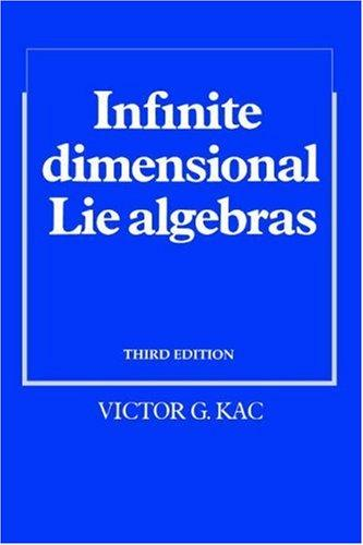 Download Infinite-Dimensional Lie Algebras
