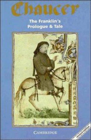 Download The Franklin's prologue and tale from the Canterbury tales