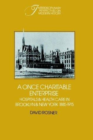 Download A Once Charitable Enterprise
