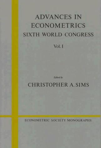 Advances in Econometrics