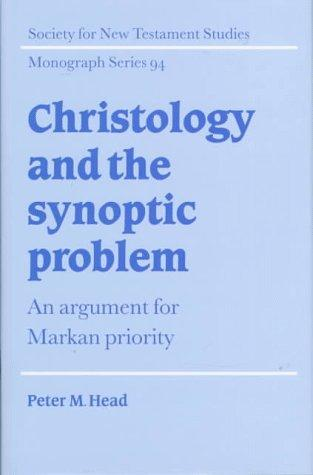Download Christology and the Synoptic problem