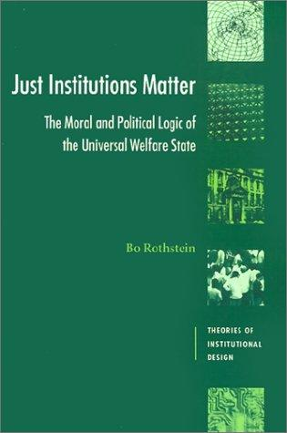 Download Just institutions matter