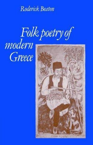 Download Folk Poetry of Modern Greece
