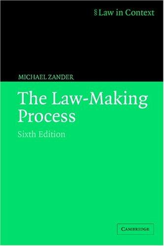 Download The law-making process