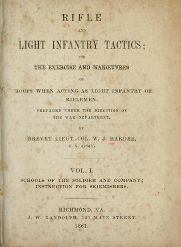Download Rifle and light infantry tactics