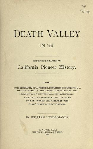 Download Death valley in '49.