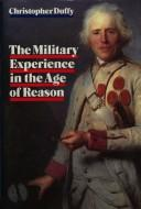 The military experience in the age of reason