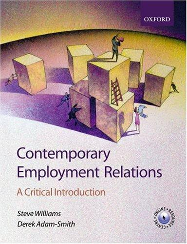 Download Contemporary employment relations