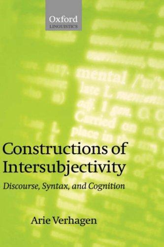 Download Constructions of intersubjectivity