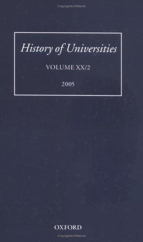 Download History of Universities